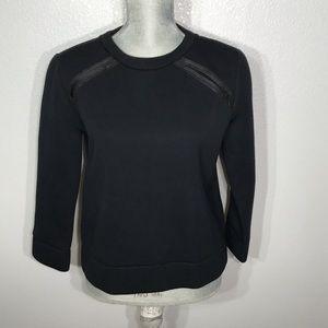 Kate spade Saturday black sweater pullover top